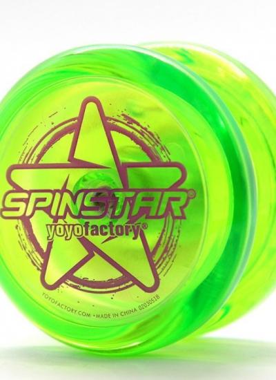 Jojo profesjonalne Spinstar zielone